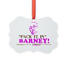 Pack it inBarneyYARD Ornament
