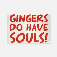 gingers-do-have-souls Rectangle Magnet