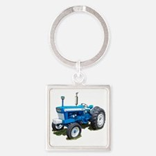 Ford5000-10 Square Keychain