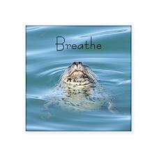 """breathe Square Sticker 3"""" x 3"""""""