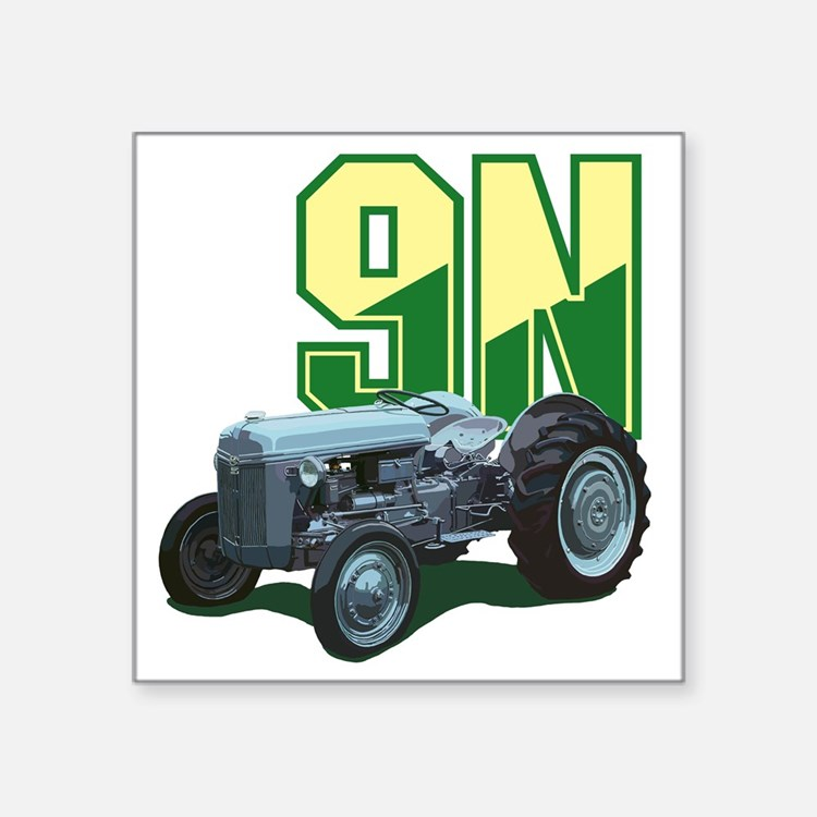 "Ford9N-10 Square Sticker 3"" x 3"""