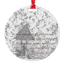 Poem XIII Ornament