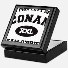 propertyofconanWHITE [Converted] Keepsake Box