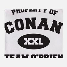 propertyofconanWHITE [Converted] Throw Blanket