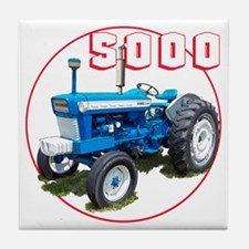 Ford5000-C8trans Tile Coaster