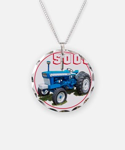 Ford5000-C8trans Necklace