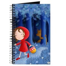 red riding hood illustration Journal