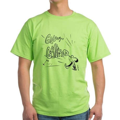 GGT0001REVISED011011 2 Green T-Shirt