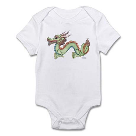 Oriental Dragon Infant Bodysuit