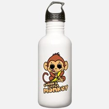 cheeky-little-monkey Water Bottle