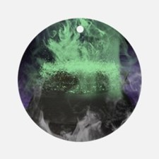 cauldron coaster Round Ornament