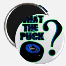 what_the_puck_green Magnet
