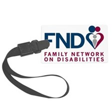 2-New FND Logo hi-res_Trans Back Luggage Tag