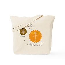 Friendly Lollipop Tote Bag