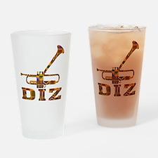 Dizzy Trumpet Kente.gif Drinking Glass