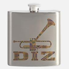Dizzy Trumpet Kente.gif Flask