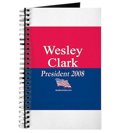"""""""Wesley Clark for President"""" Journal"""