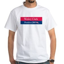 """""""Wesley Clark for President"""" Shirt"""