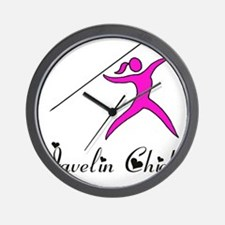 Javelin chick Wall Clock