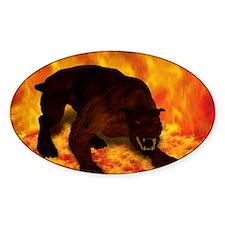 hellhound blanket Decal