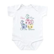 Triplet New Kid on the Block Infant Bodysuit