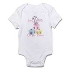 Girl New Kid on the Block Infant Bodysuit