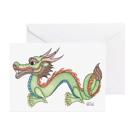 Oriental Dragon Greeting Cards (Pk of 10)