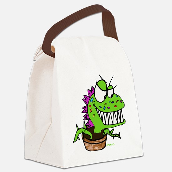 Little Shop Plant Canvas Lunch Bag