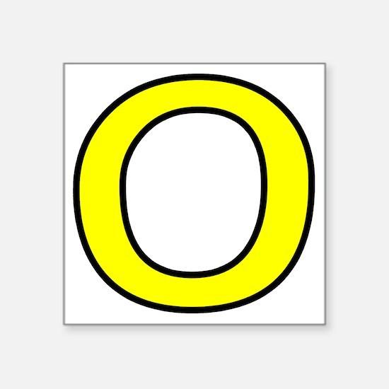 """zero-shrock Square Sticker 3"""" x 3"""""""