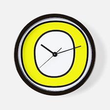 zero-shrock Wall Clock