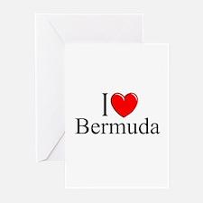 """I Love Bermuda"" Greeting Cards (Pk of 10)"