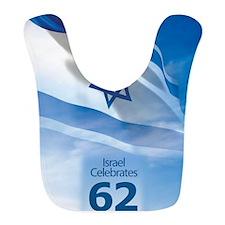Israel at 62 Flag Bib