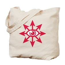 chaoseye-red Tote Bag