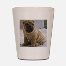 LaurensSharpei Shot Glass