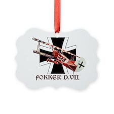 FOKKER Ornament