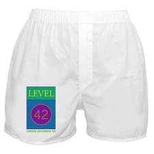 Level 42 London Dec 90 Boxer Shorts