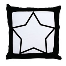 star-shrock Throw Pillow