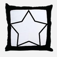 star-shrock Throw Pillow