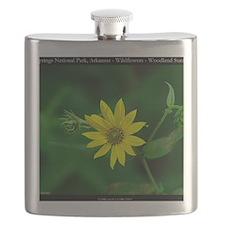 Woodland Sunflower Flask