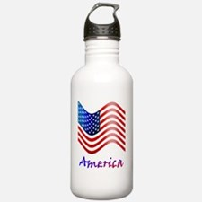 new flag Water Bottle