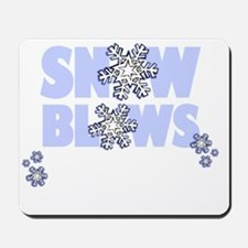 SNOWBLOWS_movesouth_light Mousepad