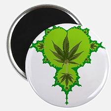 Weed Fractal Magnet