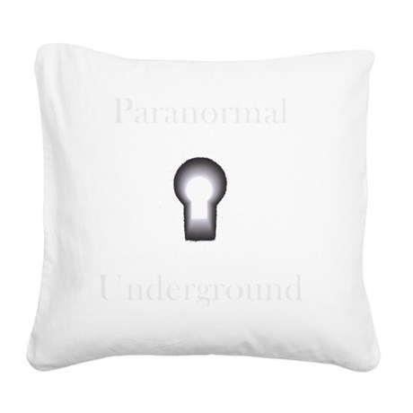 New on Dark clothes logo 2.gi Square Canvas Pillow