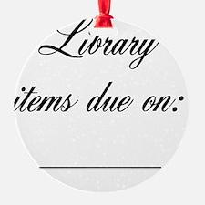 due-date-reminder Ornament