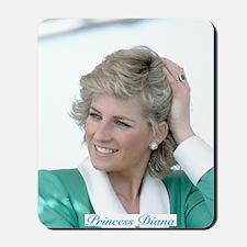 HRH Princess Diana Australia Mousepad
