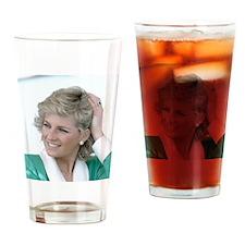 HRH Princess Diana Australia Drinking Glass