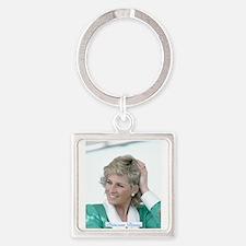 HRH Princess Diana Australia Square Keychain