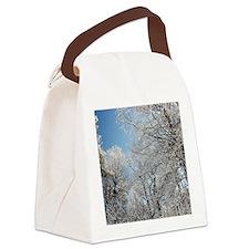 GeorgiaSnow5x4 Canvas Lunch Bag
