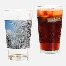 GeorgiaSnow5x4 Drinking Glass