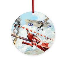 Fokker Round Ornament